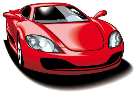 cartoon sports car fine sports car 05 vector material download free vector