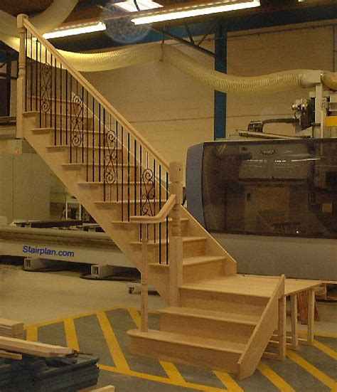 quarter landing stairs oak staircases from staircases biz