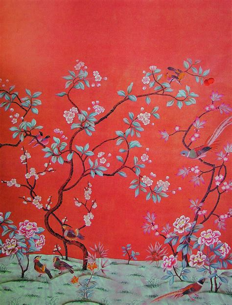 chinoiserie wallpaper how do they do that chinoiserie wallpaper this handcrafted life