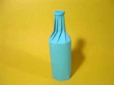 Bottle Origami - origami bottle jo nakashima