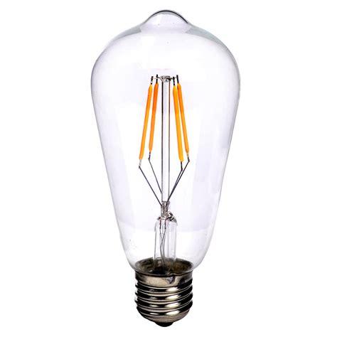 retro filament light e27 e14 vintage retro edison cob led filament light l