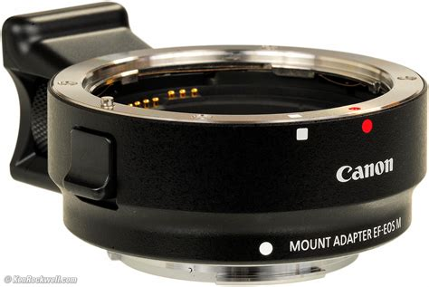 Adaptor Eos M Canon Eos Ef Ef M Adapter Review