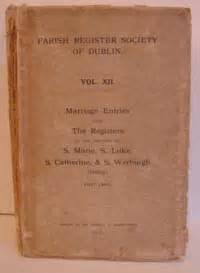 Dublin Marriage Records Archive Cd Books Ireland Ltd Church Of Ireland Records