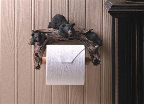 black bear wall hooks wholesale at koehler home decor black bear toilet paper holder wholesale at koehler home decor