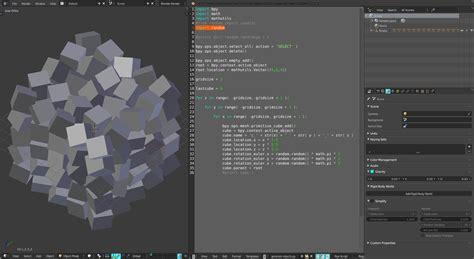 blender 3d python tutorial blender introduction wikimal