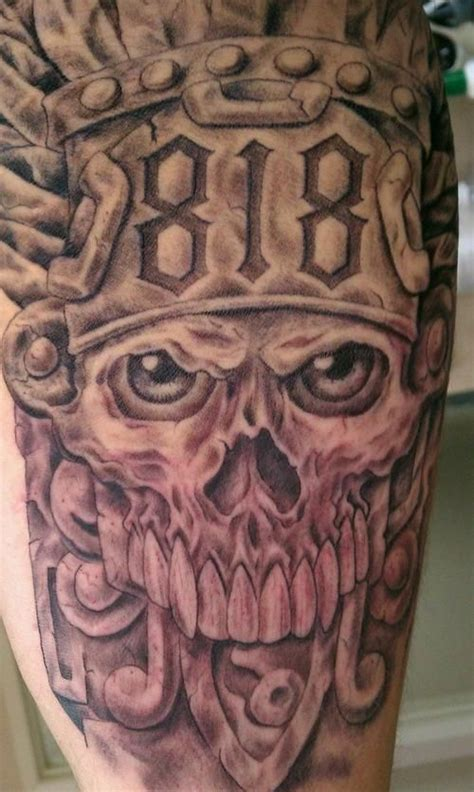 aztec warrior skull tattoo designs 17 best ideas about aztec designs on