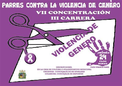 imagenes originales contra la violencia de genero carrera quot parres contra la violencia de g 233 nero quot 2017