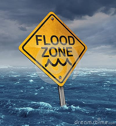 flood warning royalty  stock images image