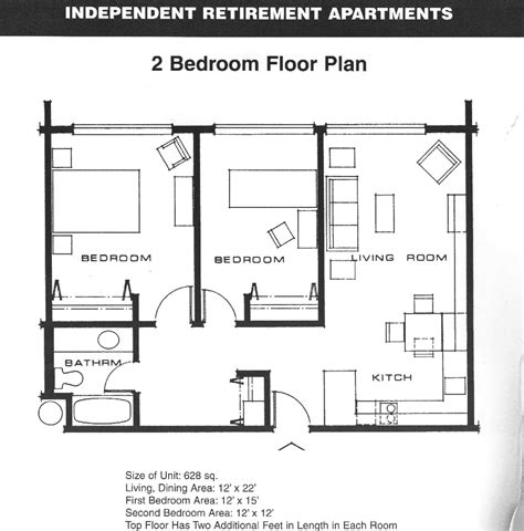 2 bedroom apartment floor plans add stairs more storage plus patio and or garage house
