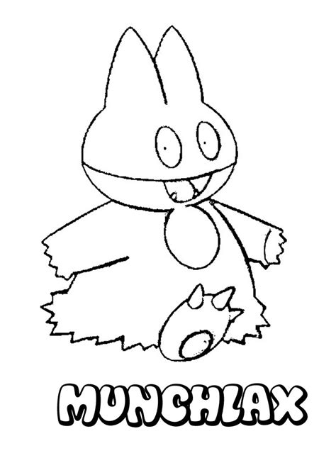 normal pokemon coloring pages normal pokemon coloring pages munchlax