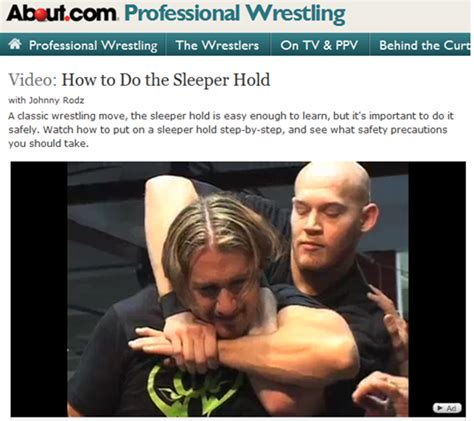 How To Put Someone In A Sleeper Hold by The Coordinates Sleeper Hold Suffocation Technique