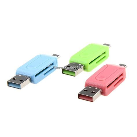 Otg Card Reader usb otg card reader universal micro usb otg tf sd card