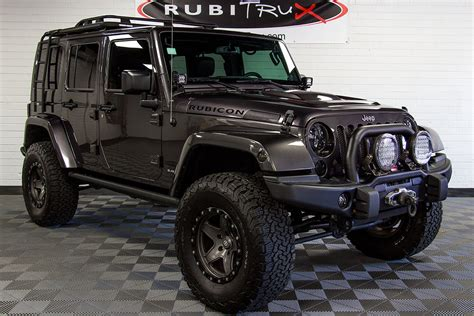 custom jeep 2014 jeep wrangler rubicon unlimited hemi granite