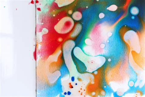 painting toddlers easy projects for watercolors