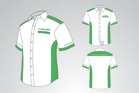 Baju Lengan Pendek Polos sribu office clothing design desain baju dinas b