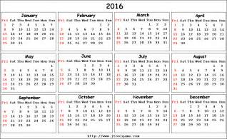 2016 calendar with week numbers and monday start calendar template