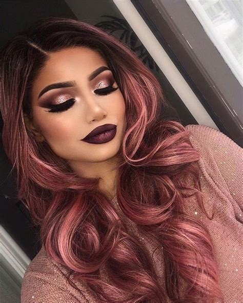 rose gold hair is the latest hair color trend to surprize