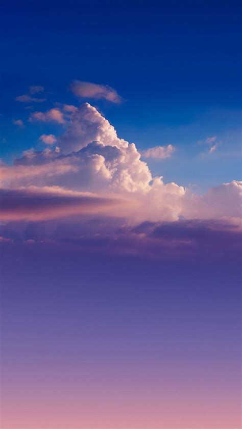 wonderful nature clouds iphone  wallpapers hd