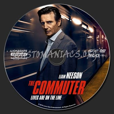 Dvd The Commuter 2018 the commuter dvd label dvd covers labels by customaniacs id 250879 free highres
