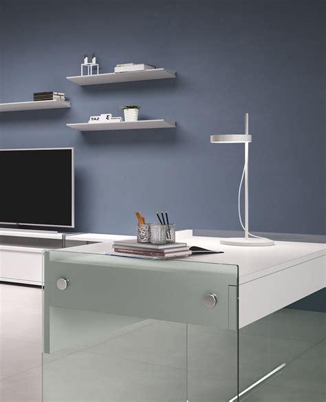 scrivanie per computer scrivania per computer mydesk in vetro e laminato 100 cm