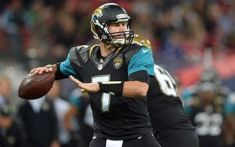 chad henne benched gus bradley jags have rallied around starting qb chad
