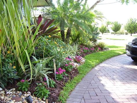South Florida Landscaping Ideas South Florida Tropical Landscaping Ideas Images Front Yard Pinterest