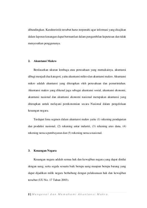 Memahami Akuntansi Dasar makalah mengenal dan memahami akuntansi makro