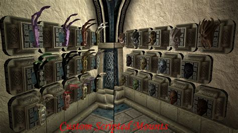Hearthfire Trophy Room by The Best Of Player Homes Skyrimmods