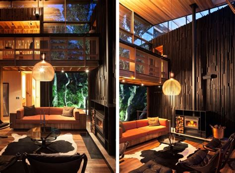 cozy modern house of wood digsdigs
