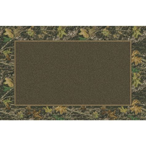 marshall 4x6 mossy oak 174 new up 174 all camo area rug 131676 rugs at sportsman s guide