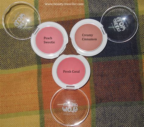 Maybelline Blush On Cheeky Glow Fresh Coral review maybelline cheeky glow blushes fresh coral