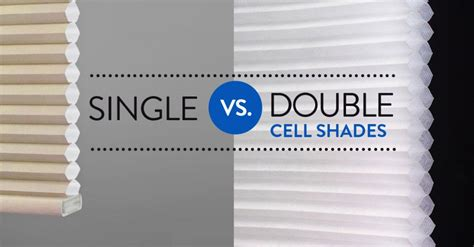Window Blind Treatments - single cell vs double cell cellular shades the great room