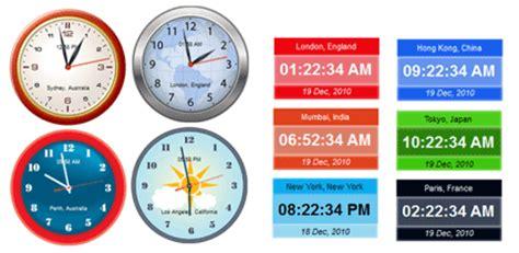 Small Desktop Clock Crave World Clock Screenshots