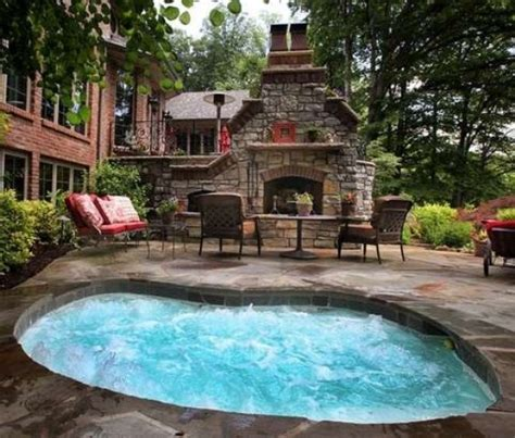 awesome backyard ideas 48 awesome garden hot tub designs digsdigs