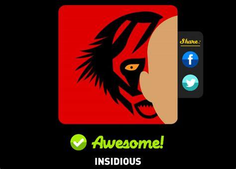 Insidious Movie Quiz | insidious icon pop quiz answers icon pop quiz cheats