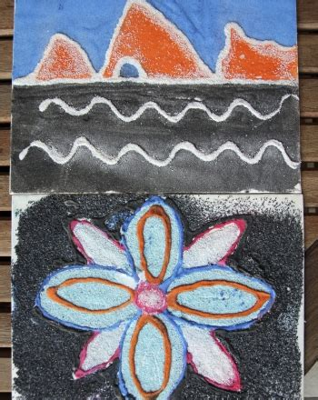 navajo crafts for sandpainting activity education
