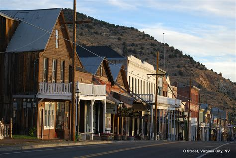 smallest city in us authentic historic virginia city nevada purple roofs