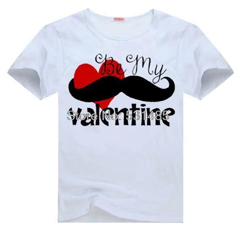 childrens valentines day shirts mustache boys be my t shirt for kid boy