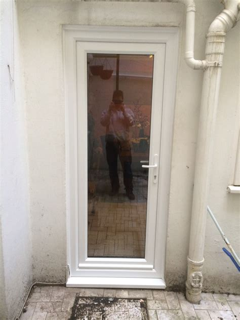 Front And Back Door Upvc Front Door And Upvc Glass Back Door In Brighton Sussex Glazing Services