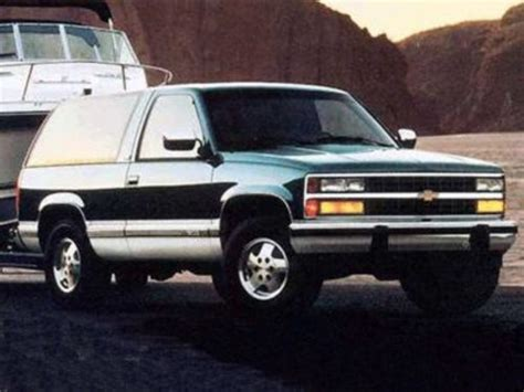 1994 chevrolet blazer owners manual download download manuals am