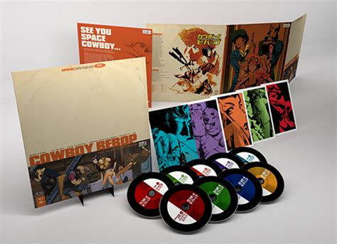 cowboy film box set cowboy bebop premium editions revealed see bebop at its