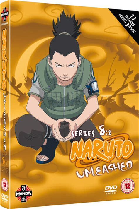 naruto hot blooded confrontation naruto unleashed series 8 part 2 dvd zavvi