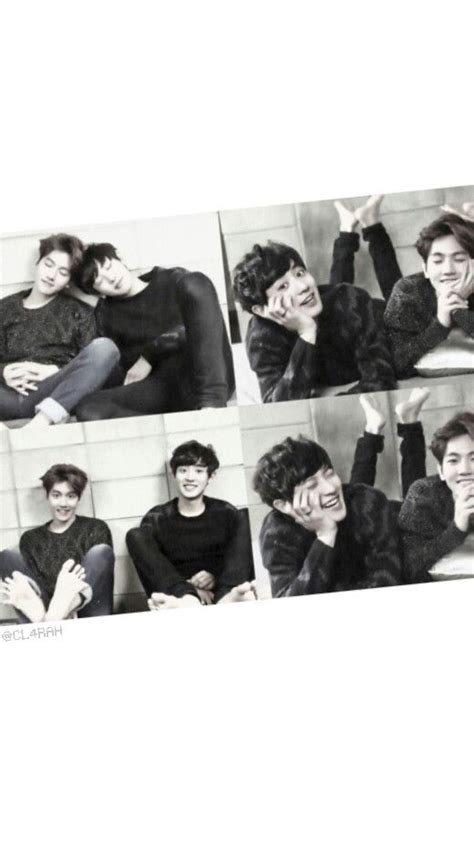 wallpaper dinding exo chanbaek iloveexo baekyeol wallpaper exo pinterest