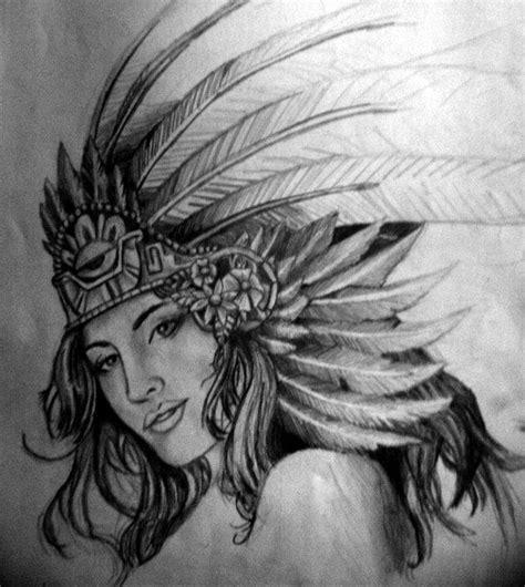 imagenes aztecas de mujeres mujer azteca by thevisualfreak on deviantart