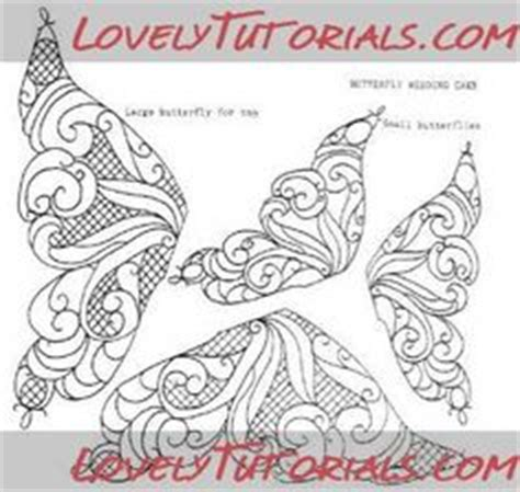 butterfly cake template трафареты quot бабочки quot butterfly templates мастер классы