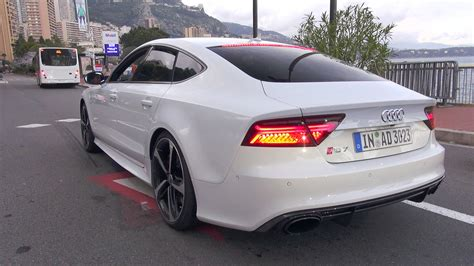 Audi S7 Wei by 2016 Audi Rs7 Sportback Performance Start Up Revs