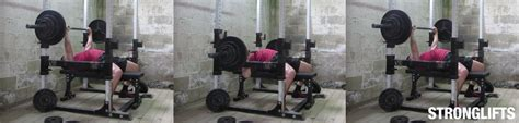 bench press stronglifts how to bench press with proper form the definitive guide