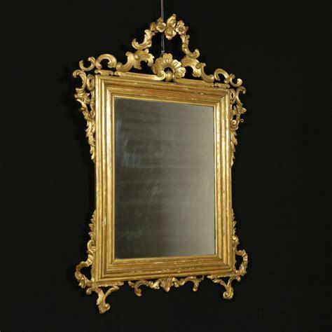 specchio cornice dorata specchiera dorata specchi e cornici antiquariato