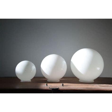 globe de lustre boule verre pour lustre design en image