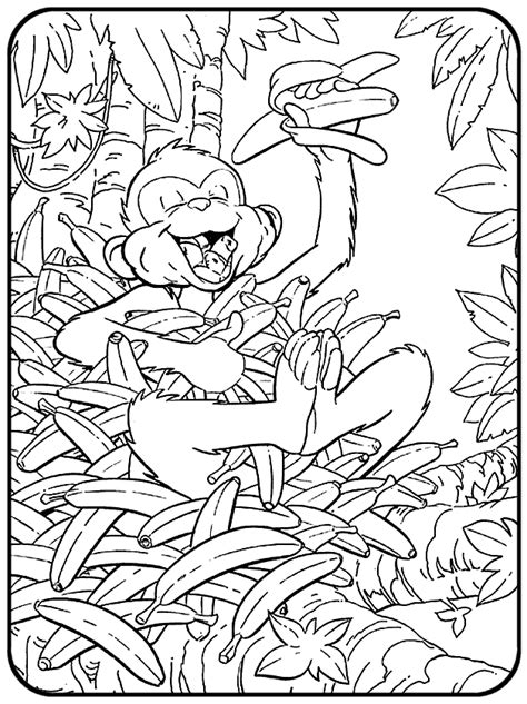 coloring page jungle free coloring pages of george of the jungle